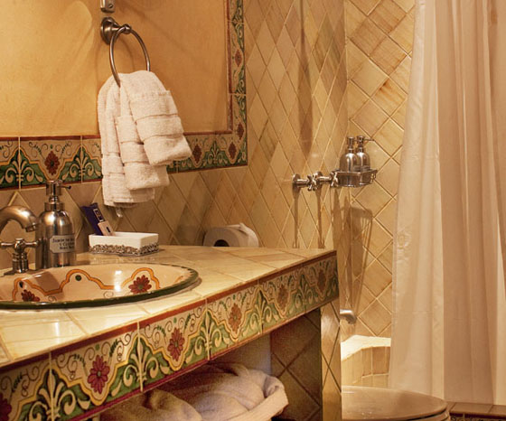 Tipos De Loseta Para Baño:Hotel Meson De Maria
